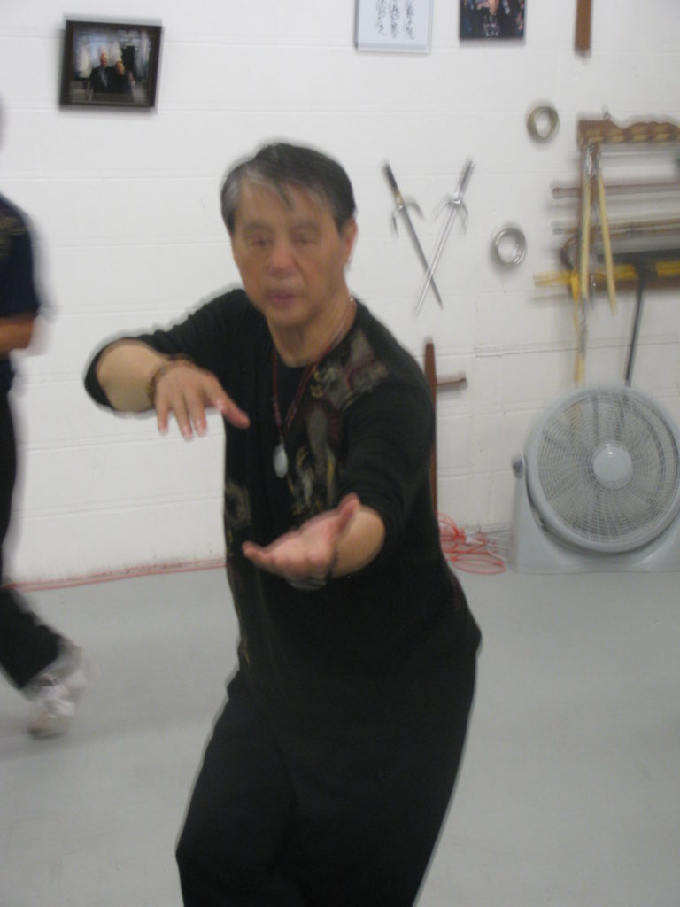 Grandmaster Chen at Scott Academy